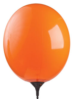 "17"" Gizmo Orange Balloon-0"