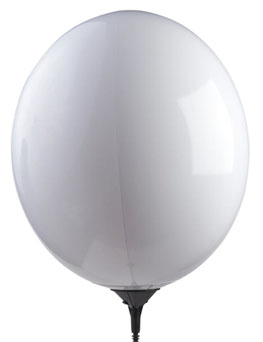 "17"" Gizmo White Balloon-0"