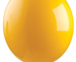 "17"" Gizmo Yellow Balloon-0"