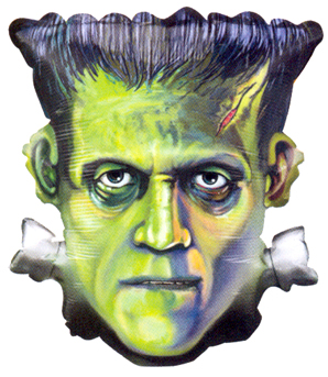"25"" Frankenstein Head-0"