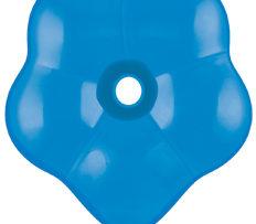 "6"" Dark Blue GEO Blossom-0"