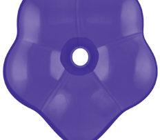 "6"" Purple Violet GEO Blossom-0"