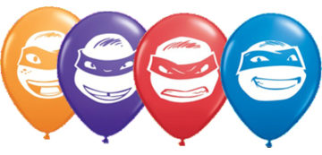 "5"" Ninja Turtle Face Assorted-0"