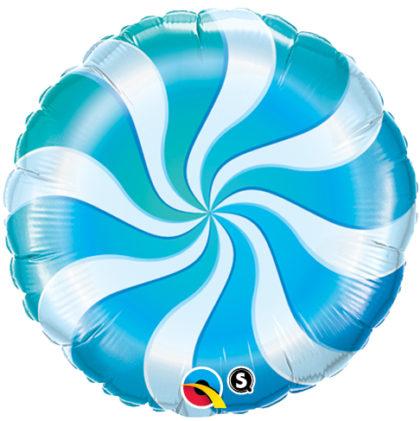 "18"" Blue Candy Swirl-0"