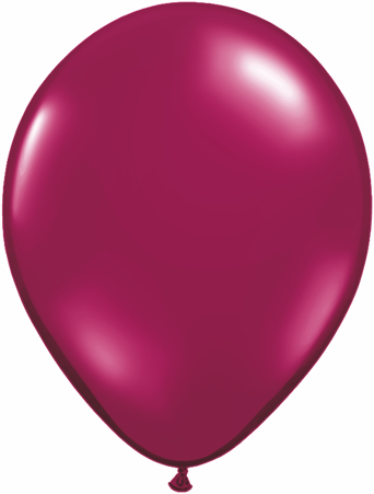 "11"" Sparkling Burgundy-0"