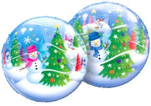 "22"" Festive Trees & Snowmen-0"