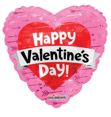 """18"""" Valentine Hearts with Banner-0"""