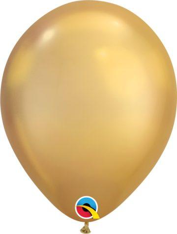 "7"" Chrome Balloons"